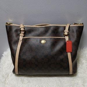 Coach Large signature bag